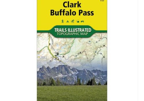 National Geographic National Geographic 117: Clark | Buffalo Pass Map