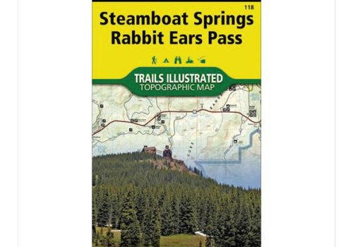 National Geographic National Geographic 118: Steamboat Springs | Rabbit Ears Map