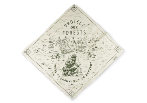 Landmark Project Landmark Project Protect Our Forests Bandana