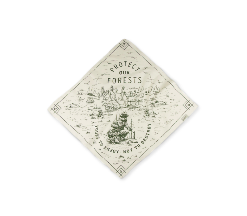 Landmark Project Protect Our Forests Bandana