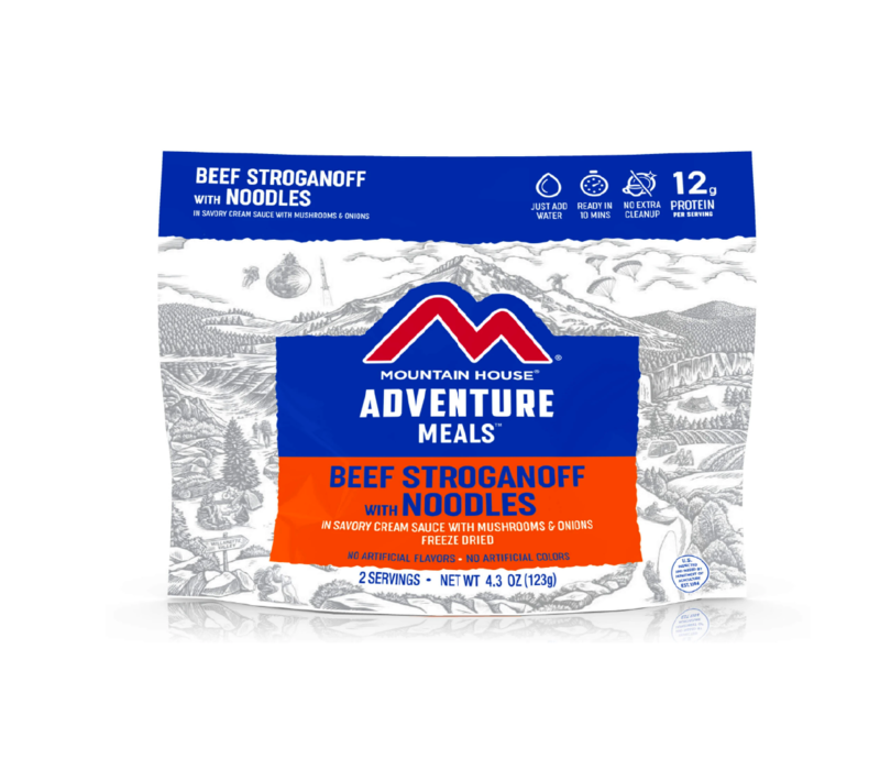 Mountain House Beef Stroganoff Freeze Dried Meal