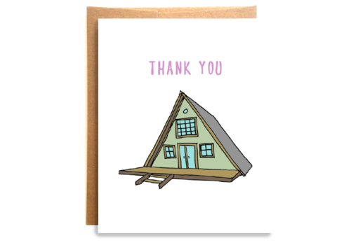 Compass Paper Co. Compass Paper Co. Cabin Thank You Card