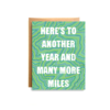 Compass Paper Co. Compass Paper Co. Many More Miles Card