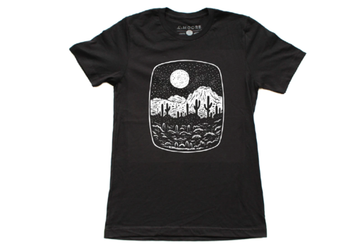 Moore Collection Moore Collection Night Butte Unisex Tee