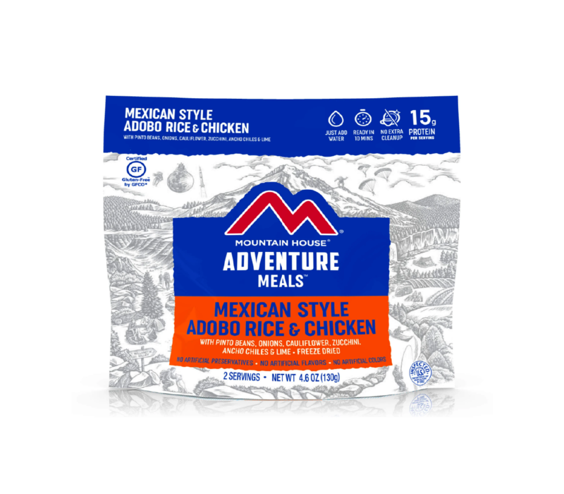Mountain House Adobe Chicken & Rice Freeze Dried Meal