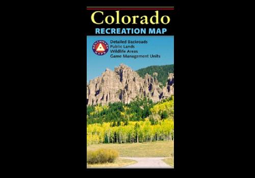 Benchmark Colorado Recreation Map