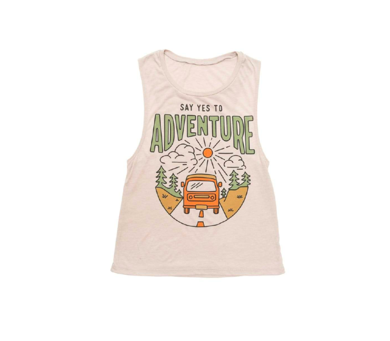 Keep Nature Wild Women's Say Yes to Adventure Muscle Tank