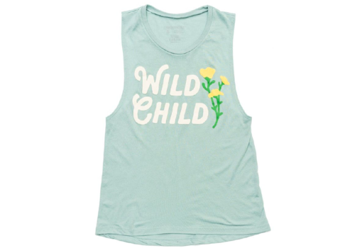 Keep Nature Wild Keep Nature Wild Women's Wild Child Muscle Tank