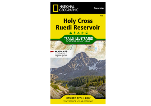 National Geographic National Geographic 126:  Holy Cross | Ruedi Map