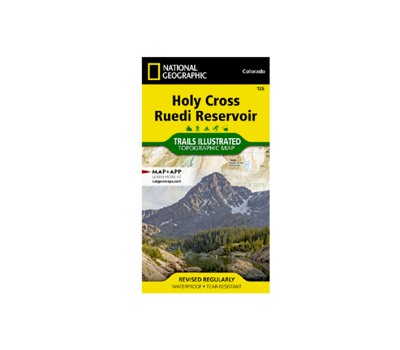 National Geographic 126:  Holy Cross | Ruedi Map