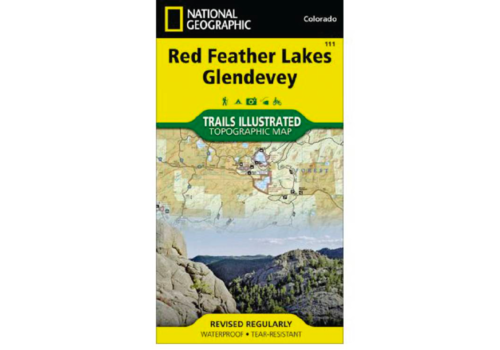National Geographic National Geographic 111:  Red Feather Lakes | Glendevey Map
