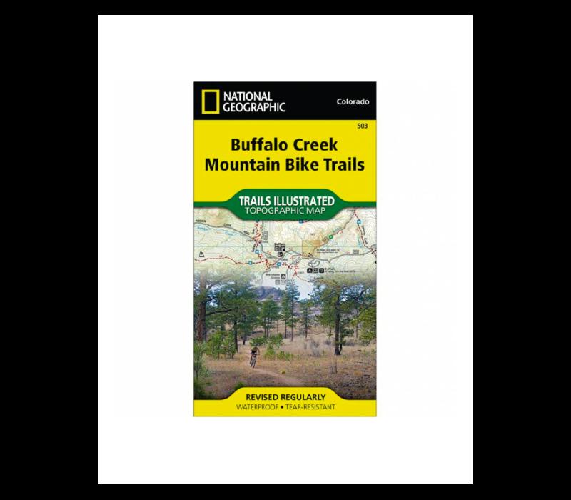 National Geographic 503: Buffalo Creek MTB Trails Map