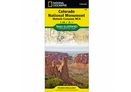 National Geographic National Geographic 208: Colorado National Monument Map