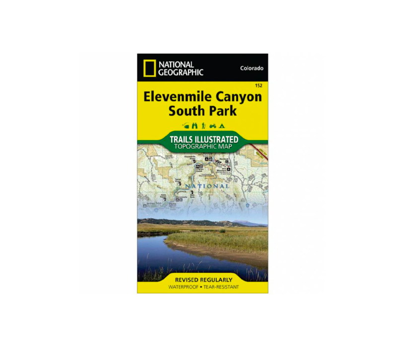National Geographic 152: Elevenmile Canyon | South Park Map