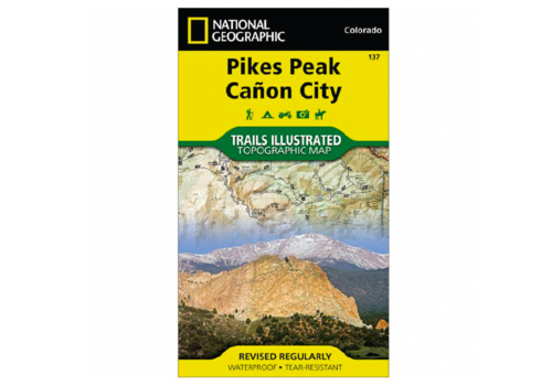 National Geographic National Geographic 137: Pikes Peak | Canon City Map