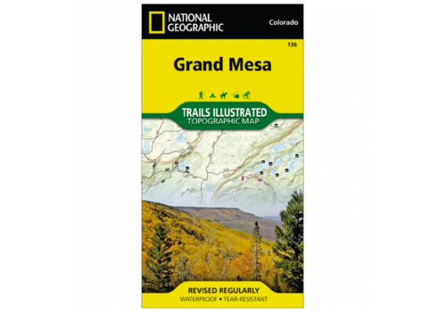 National Geographic National Geographic 136: Grand Mesa Map