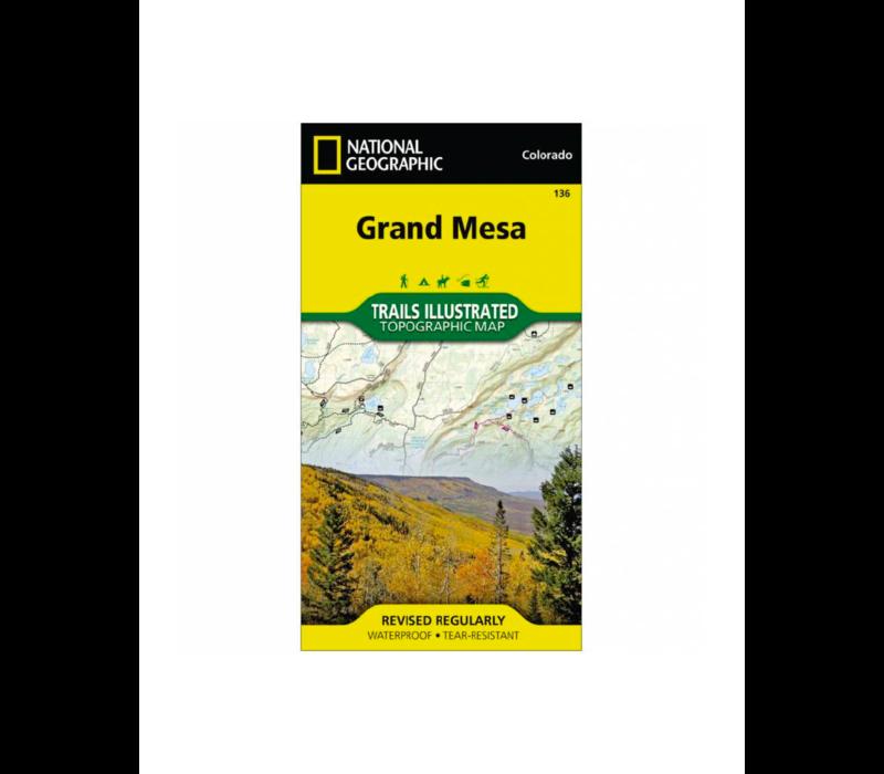 National Geographic 136: Grand Mesa Map