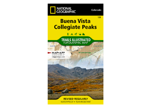 National Geographic National Geographic 129: Buena Vista | Collegiate Peaks Map