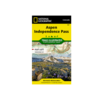 National Geographic National Geographic 127: Aspen   Independence Pass Map