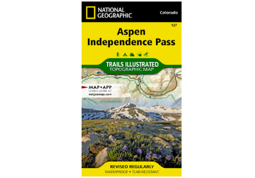 National Geographic National Geographic 127: Aspen | Independence Pass Map