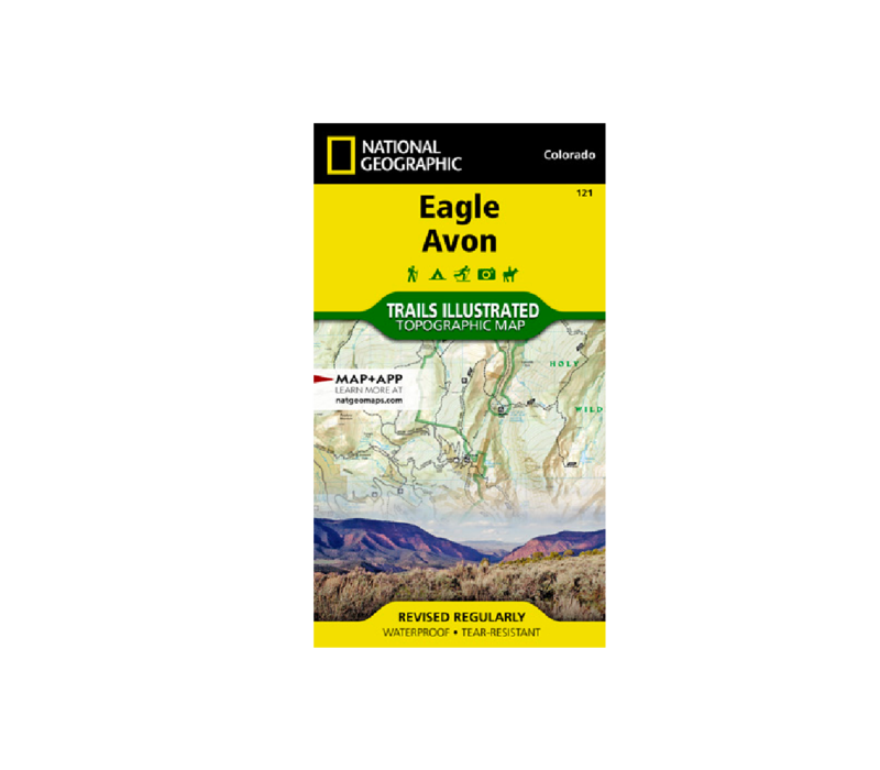 National Geographic 121: Eagle | Avon Map