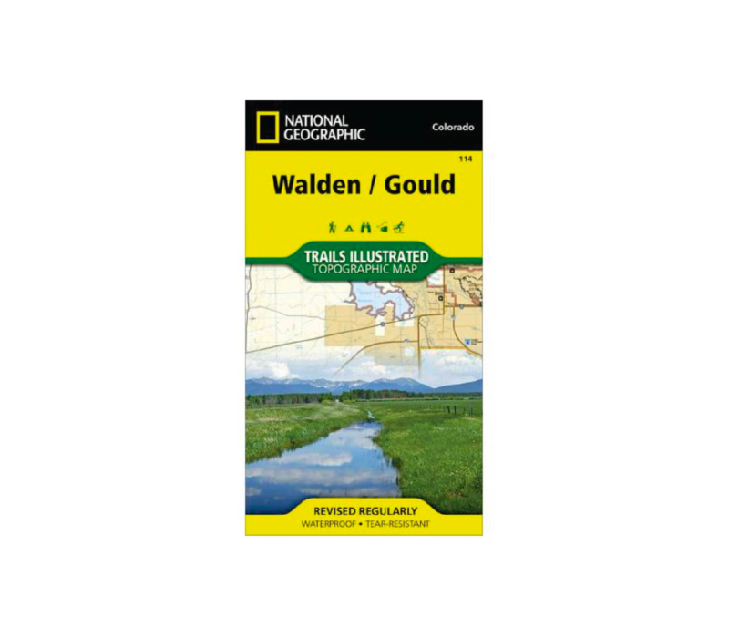 National Geographic 114: Walden   Gould Map