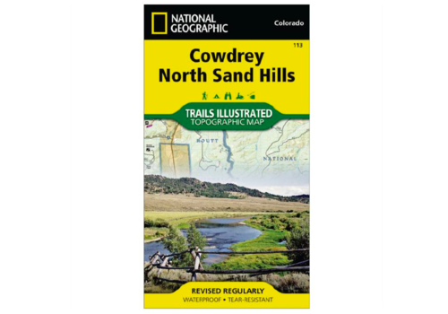 National Geographic National Geographic 113: Cowdrey | North Sand Hills Map