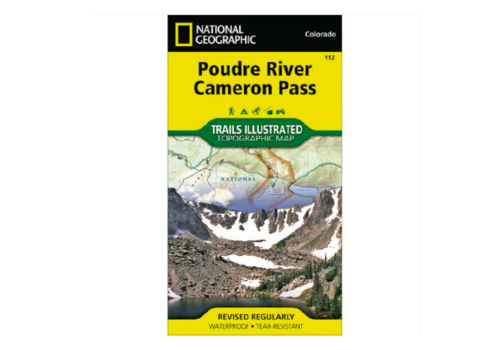 National Geographic National Geographic 112: Poudre River | Cameron Pass Map
