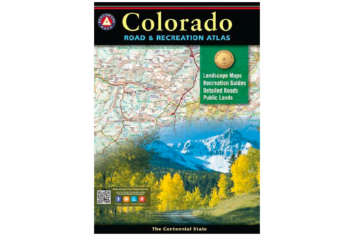 National Geographic Benchmark Maps Colorado Road And Recreation Atlas