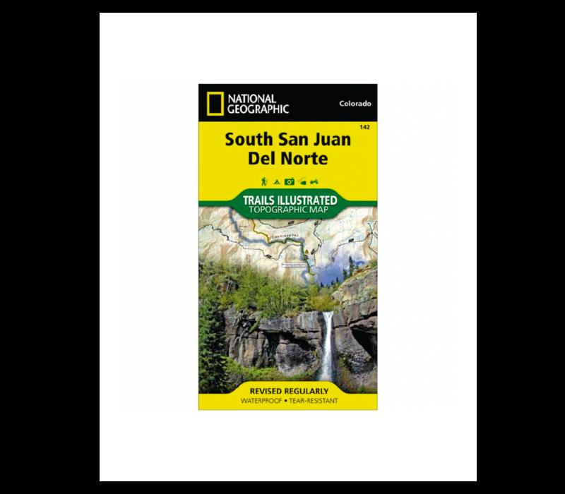 National Geographic 142: South San Juan | Del Norte Map