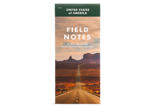 Field Notes Field Notes National Highway Map