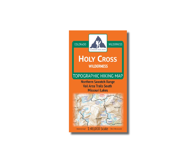 Outdoor Trail Maps Holy Cross Wilderness Map