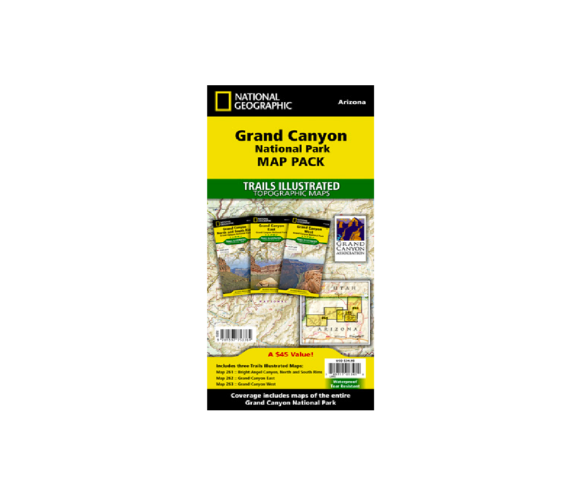 National Geographic Grand Canyon Map Pack
