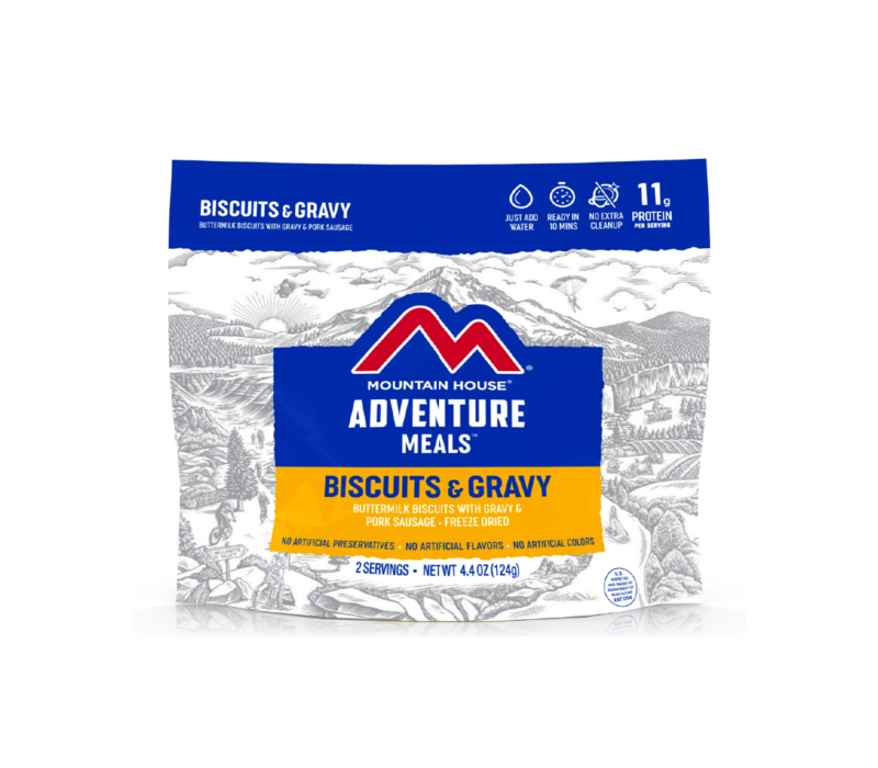 Mountain House Biscuits and Gravy Freeze Dried Meal