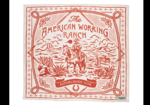Sendero Sendero The American Working Ranch Bandana Desert Dust