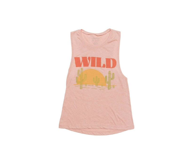 Keep Nature Wild Women's Sunset Chaser Muscle Tank