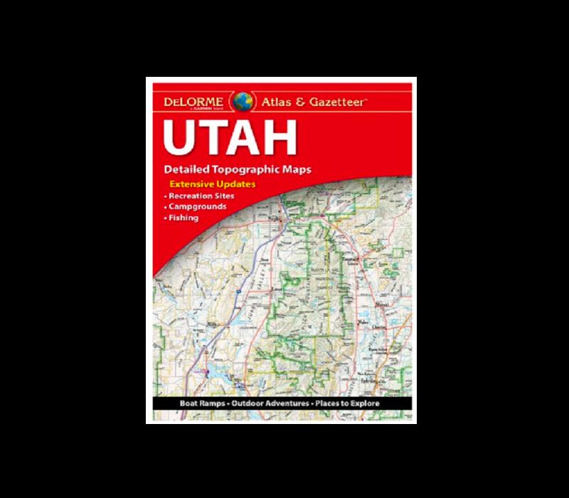 Delorme Utah Atlas & Gazetteer