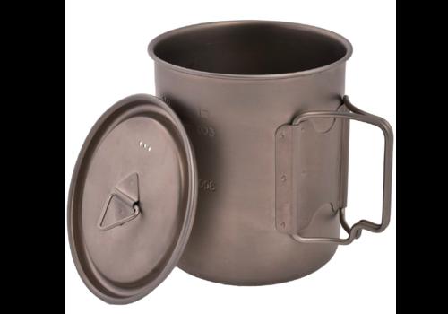 Olicamp Olicamp Titanium Space Saver Mug w' Lid 750ml