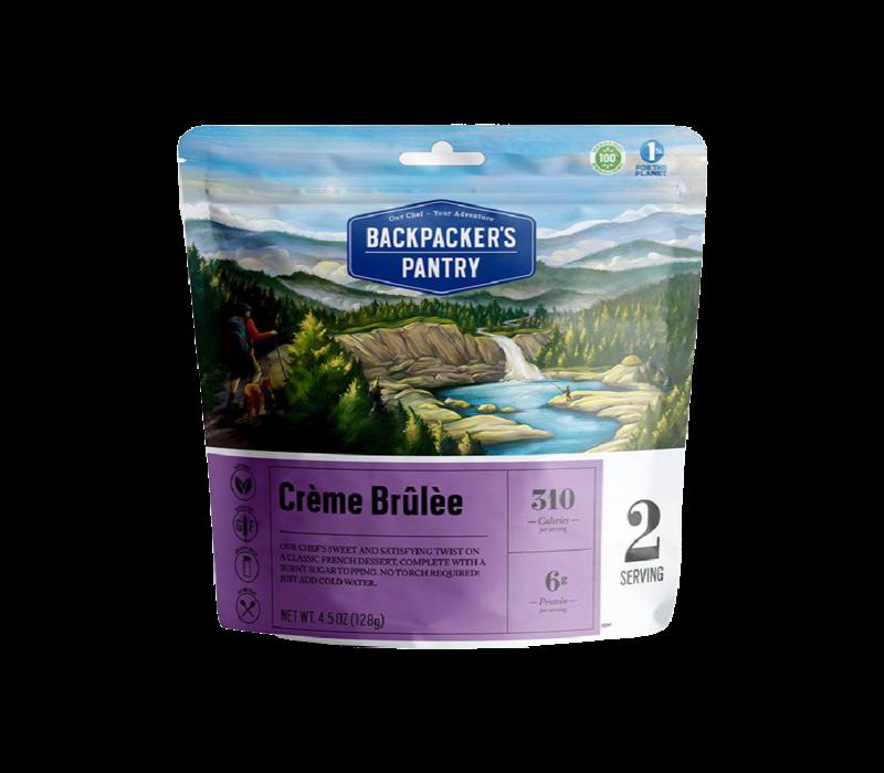 Backpacker's Pantry Creme Brulee
