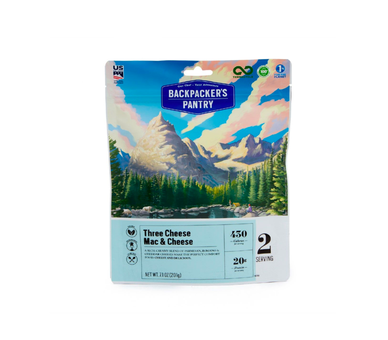Backpacker's Pantry Three Cheese Mac & Cheese Freeze-Dried Meal