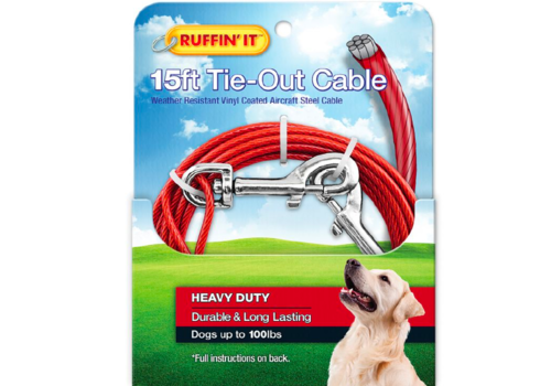 Ruffin It 15' HD Dog Cable Tie-Out