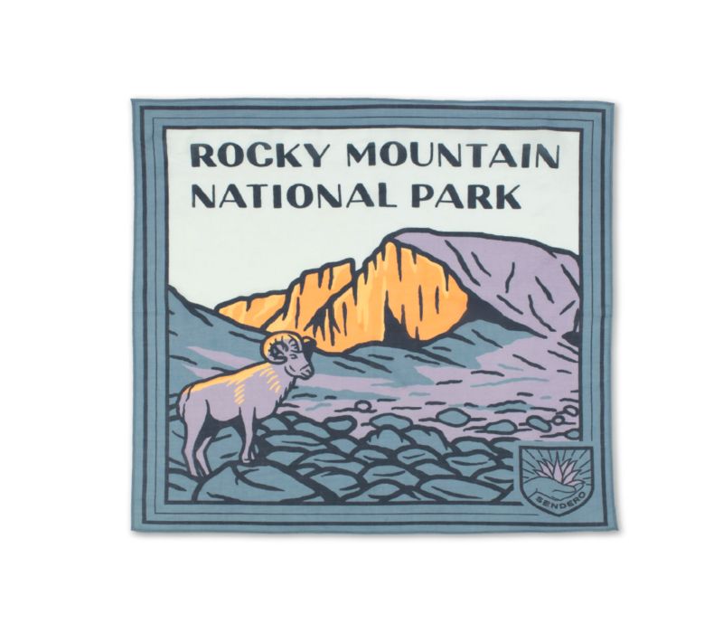 Sendero Rocky Mountain National Park Bandana