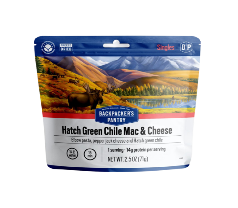 Backpacker's Pantry Hatch Chili Mac & Cheese Freeze Dried Meal