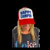 Arnie + Ollie Arnie + Ollie Happy Camper Trucker Hat
