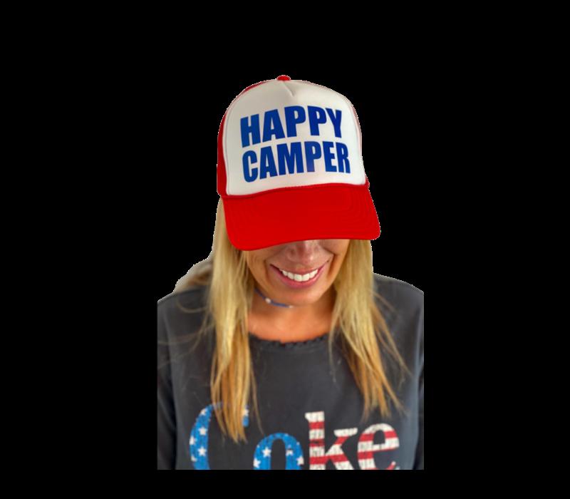 Arnie + Ollie Happy Camper Trucker Hat