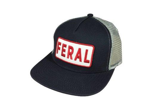 FERAL FERAL Bold Logo Trucker Hat
