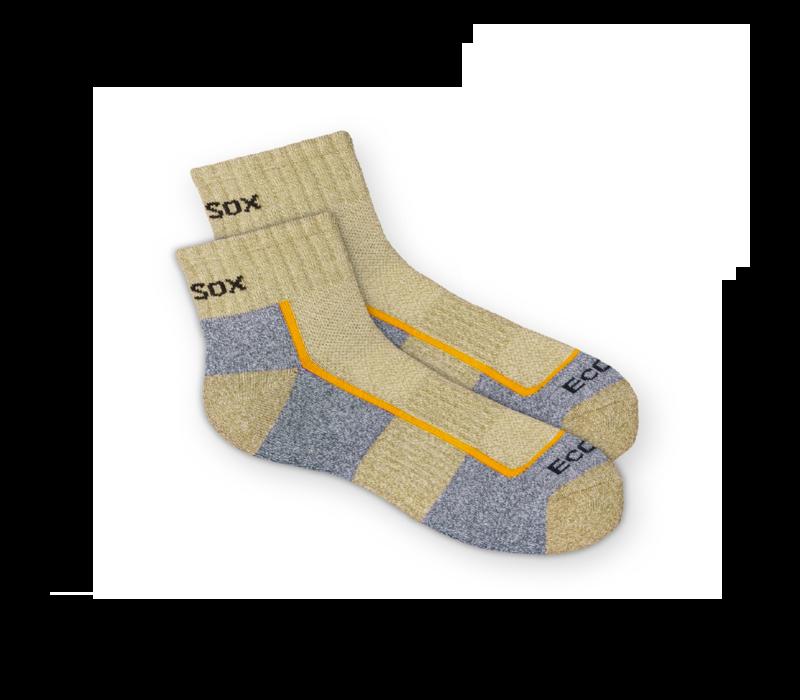Ecosox Hiking Quarter Light Weight Socks