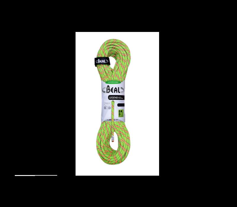 Beal Legend 8.33mm x 60m Green Climbing Rope
