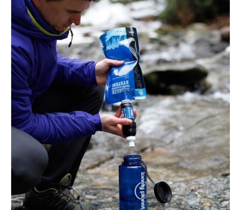 Sawyer Squeeze Water Filtration System w' 3 Pouches