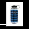 Nalgene Nalgene Limited Edition Plaid 32 oz Wide Mouth Water Bottle